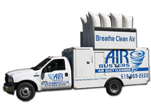 Duct Cleaning Vacuum Truck